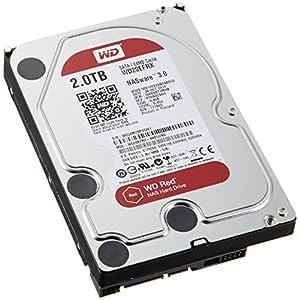 WD HDD 内蔵ハードディスク 3.5インチ 2TB Red WD20EFRX / IntelliPower /  SATA 6Gb/s / 3年保証