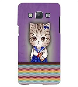 PrintDhaba Kitty D-3759 Back Case Cover for SAMSUNG GALAXY A5 (Multi-Coloured)