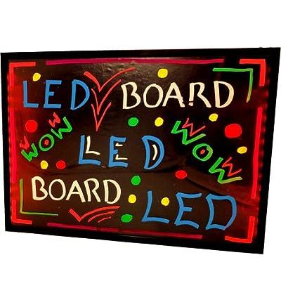 LED Fluorescent Handwriting Board 50cm x 70cm