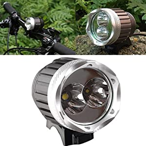 S9d 1500 Lumens Cree Xm-l T6+gxp-r5 Led Bicycle Light Headlight Headlamp Torch