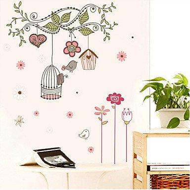 Zclcage Pattern Wall Sticker(1Pcs)