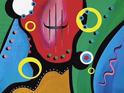 Wandbilder selbstklebend aus Vliesstoff oder Vinyl-Folie Gabi Siebenhuehner Modern in verschiedenen Größen erhältlich