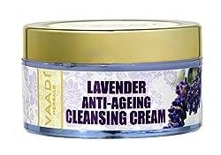 Vaadi Herbals Lavender Anti Ageing Cleansing Cream, 50g