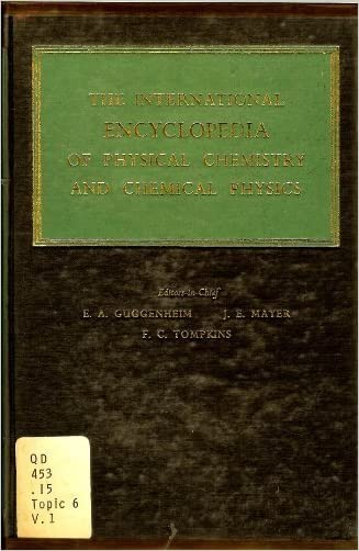Elements of the Kinetic Theory of Gases (The International Encyclopedia of Physical Chemistry and Chemical Physics)