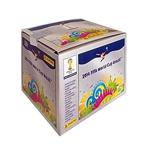 Panini - Boite 500 Stickers Coupe du Monde FIFA Brésil 2014