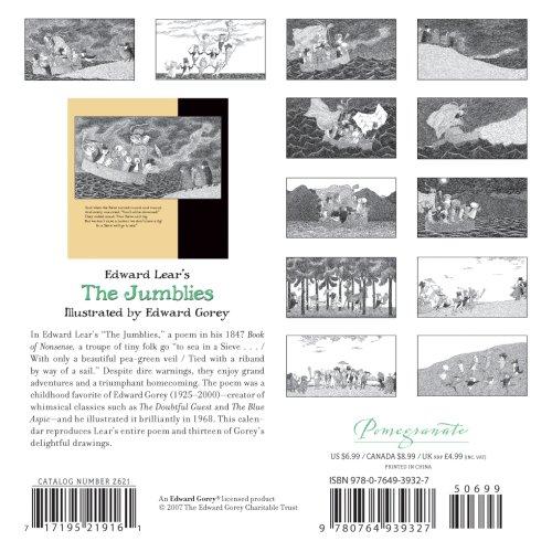 Edward Lear's the Jumblies 2008 Calendar