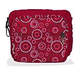 Simplygood-Bolso Multifuncional -Fusion Diaper Bag (Rojo)