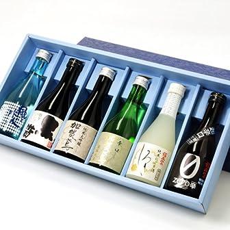 【福光屋】父の日限定 ミニボトル6本セット (300mL×6本、ギフトBOX入)fd