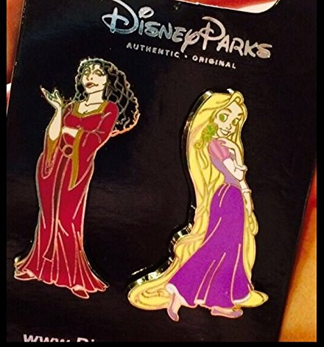 Authentic Disney Tangled Rapuzel And Mother Gothel 2-Pin Set WDW (Disney Tangled Clothing compare prices)