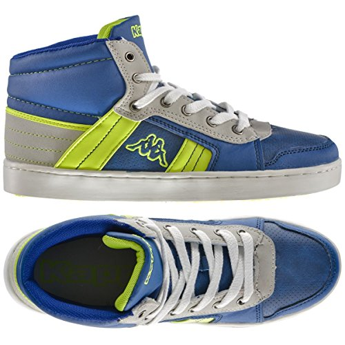 Sneakers - Valessia Kid - Bambini - Blue Royal-Lime - 4