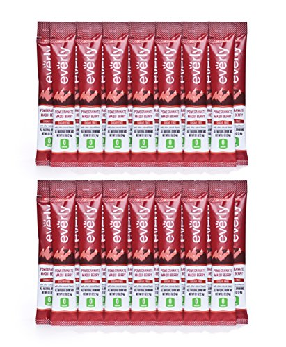Everly Hydration - Pomengranate Berry - All Natural Powdered Drink Mix - 30 Packets - Sugar Free, Zero Calorie, Healthy Water Enhancer (Natural Sugar Free Drink Mix compare prices)