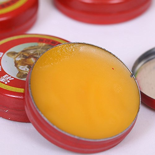 Tiger Balm Plaster Essential Oils for Mosquito Elimination Headache Cold Dizziness (Nostril Wax compare prices)