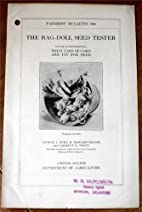 The Rag-Doll Seed Tester: Its Use in…