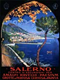 TRAVEL TOURISM SALERNO MEDITERRANEAN ITALY VINTAGE ADVERTISING POSTER ART 2491PY