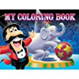 ShindigZ Big Top Circus Birthday Coloring Books - 4-Pack