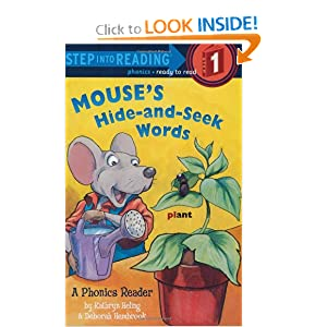 Mouse's Hide-and-Seek Words (Step into Reading) by Kathryn Heling, Deborah Hembrook and Patrick Joseph