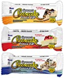 ANSI (Advanced Nutrient Science) - Gourmet Cheesecake Natural Protein Bar Chocolate Chip Cookie Dough - 2.1 oz.