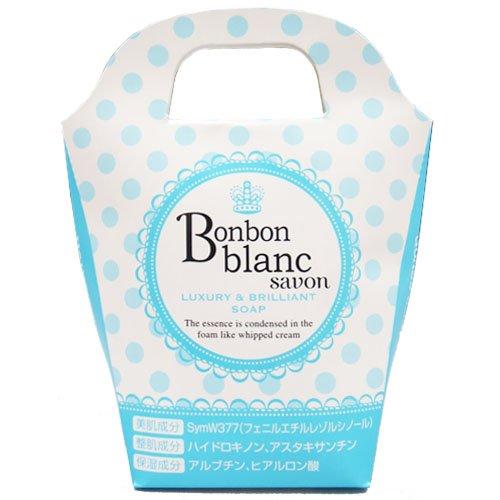 ボンボンブランサボン Bonbon blanc savon 火山灰・海由来の泥を配合 美容石けん 化粧石鹸 枠練り石けん