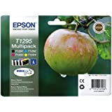 Epson Durabrite T1295 Apple Genuine Multipack Ink Cartridges