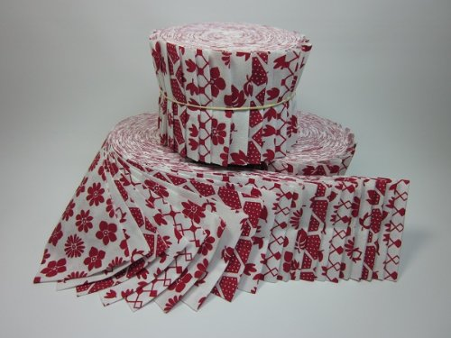 Quilting Fabric Jelly Roll 20 2.5