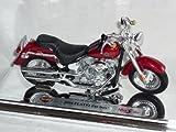 Harley Davidson 2004 Flstfi Fat Boy Rot 1/18 Maisto Modellmotorrad Modell Motorrad