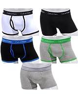 Calvin Klein 365 - Boxer en coton pour hommes taille basse - Lot de 5 - Tailles: M(4) - L(5) - XL(6) - Nouveau