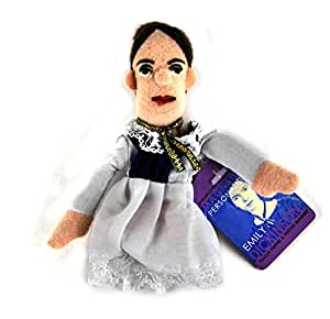 Emily Dickinson Magnetic Finger Puppet