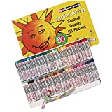 Sakura Cray-Pas Junior Artist Oil Pastels, Assorted Colors, Set of 50 (Color: Assorted Colors, Tamaño: 50 Color Set)