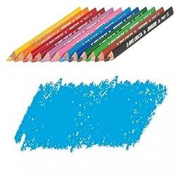 JOLLY X-BIG Delta Colored Pencil, Light Blue, Three 12-Packs = 36 pcs. 3399-0010
