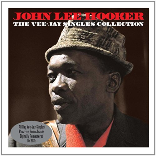 The Vee Jay Singles Collection - John Lee Hooker cover