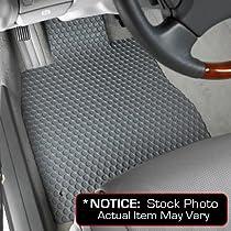 Audi TT Quattro Lloyd Mats Custom-Fit All-Weather Rubbertite Floor Mats 2 Piece Front Set - Coupe - Grey (2008 08 2009 09 2010 10 2011 11 2012 12 )