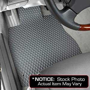 Dodge Ram 1500 Lloyd Mats Custom-Fit All-Weather Rubbertite Floor Mats 2 Piece Front Set - Mega Cab - Grey (2006 06 2007 07 2008 08 )