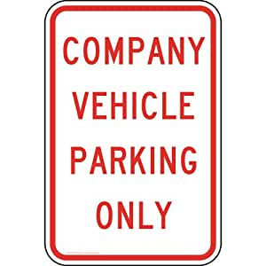 Reserved-YOUR-COMPANY-NAME-Customer-Parking-Only-Sign ...
