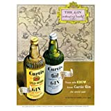 Advertisement for Curtis Gin (V&A Custom Print)