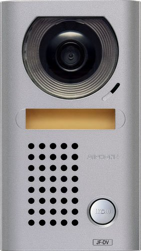 Aiphone Jf-Dv Vandal-Resistant Surface-Mount Audio/Video Door Station For Jf Series Intercom System, Cast Zinc Housing front-77555