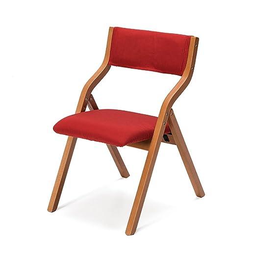 Sillas plegables Silla plegable para el hogar Sillas plegables de madera maciza Mesas y sillas de comedor de hogar Sillas plegables Sillas modernas sencillas Sillas modernas Sillas plegables