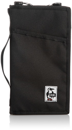 [チャムス] CHUMS Crazy Passport Case CH60-0868 Black (Black)