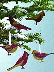 Martha Stewart Crafts Glittered Bird Ornament Kit
