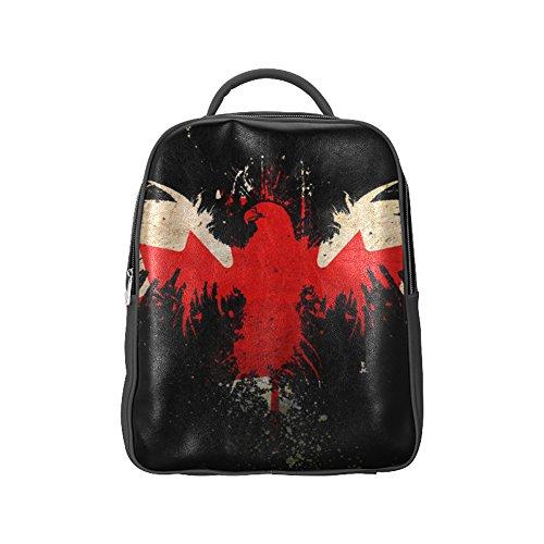 COLORSFORU(TM)Bald Eagle Flag Of Canada PU Backpack Flag Satchel School Book Bag (Roots Canada Backpack compare prices)