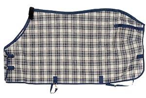 Tough 1 PVC Coated Mesh Tri-Shield Fly Sheet, Navy Blue, 72-Inch