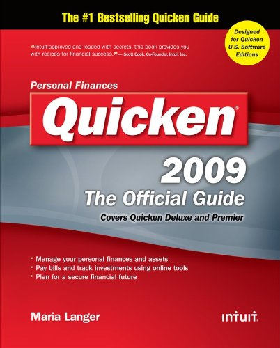 Quicken 2009 The Official Guide (Quicken Press)