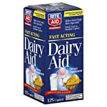 Rite Aid Pharmacy Dairy Aid, Fast Acting, Caplets, 125 caplets