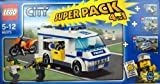 Lego City - Super Pack 4 in 1 - Police Set - Includes Sets 7286, 7235, 7279 & 7741 - 66375