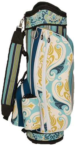 sassy-caddy-womens-breezy-golf-cart-bag-turquoise-navy-lime-green-white