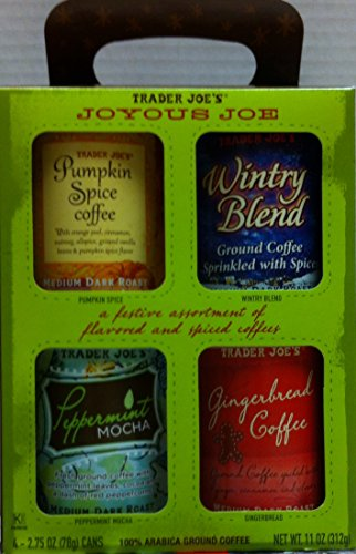 Trader Joe's Joyous Joe Ground Coffee Sampler