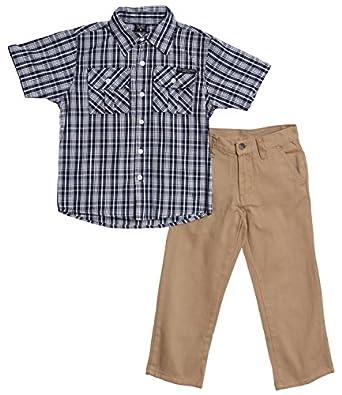 U S Polo Assn Little Boys 39 2 Piece Navy