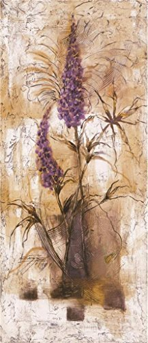 Oil Painting 'Lavender', 12 x 28 inch / 30 x 70 cm , on High Definition HD canvas prints is for Gifts And Game Room, Kids Room And Powder Room Decoration, print onto (Wax Paper News compare prices)