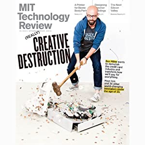 Audible Technology Review, September 2013 | [Technology Review]