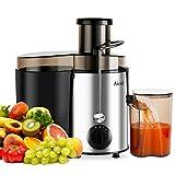 Aicok Juicer Juice Extractor BPA Free Premium Food Grade Stainless Steel Dual Speed Setting Juicer Machine, 400W
