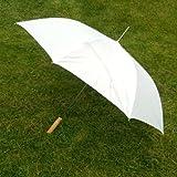 Pack of 2 WEDDING Umbrellas / Parasol in White or Black - Rainy Day Photographer Umbrella